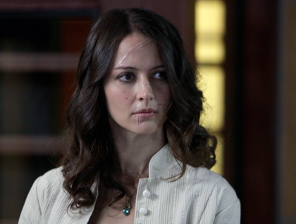 Amy Acker as Dr. Claire Saunders.