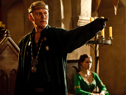 Anthony Head as Uther.