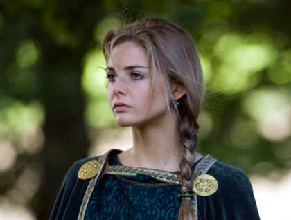 Tamsin Egerton as Guinevere.